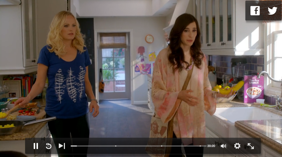 Tshirt from Episode 3 of Trophy Wife