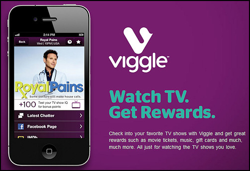 Make Money by Watching TV – Use Viggle!